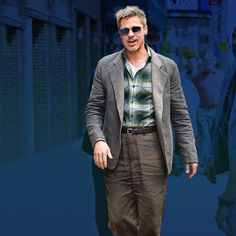 Brad Pitt Makes a Case for Old-Man Pants (Like Only Brad Pitt Can) | GQ