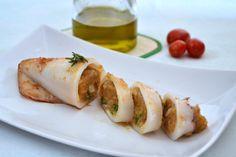 Calamari ripieni, secondo piatto gustoso