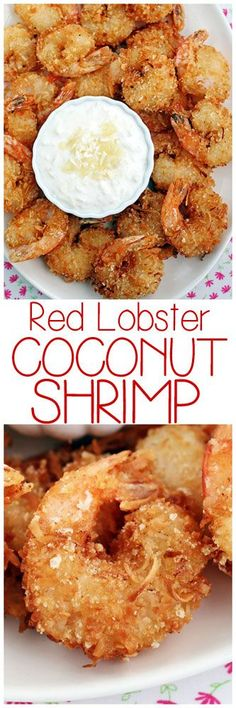 Red Lobster Coconut Shrimp with Pina Colada Sauce
