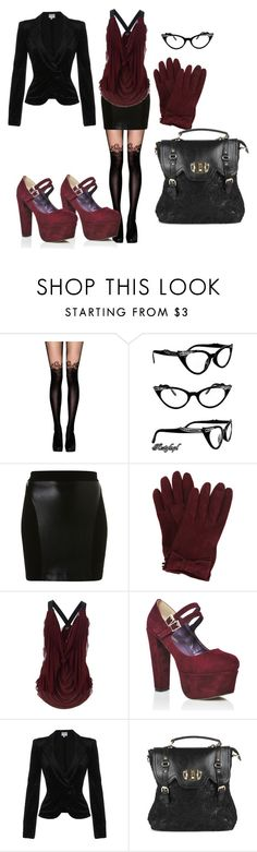 """""""I am running out of creative names for these things"""" by serenagrace ❤ liked on Polyvore featuring moda, Jonathan Aston, BC, Miu Miu, Jean-Paul Gaultier y Armani Collezioni"""