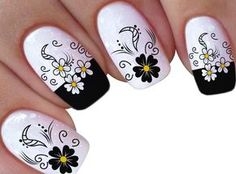 Lindas Imagens 25 parte 2 Pretty Toe Nails, Pretty Toes, Gel Uv Nails, Acrylic Nails, Nail Polish Designs, Nail Art Designs, Flower Nail Art, Powder Nails, Fabulous Nails