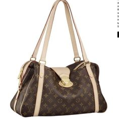 695700dd434d louis vuitton Stresa PM Brown Monogram Canvas Shoulder Bags And Totes