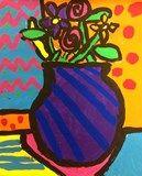 Artsonia Art Exhibit :: Fourth Grade Britto Still Life