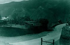 Carretera vieja, Caracas - La Guaira. Circa 1940-1948.