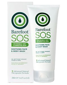 Barefoot SOS Soothing Face & Body Wash £13.60