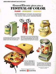 Source: Good Housekeeping, May 1969 Kitchen Board, Kitchen Tools, Vintage Ephemera, Vintage Ads, Cooking Foil, Great Mothers Day Gifts, General Electric, Good Housekeeping, Vintage Advertisements