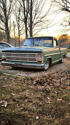 1968 mercury m100 #mercury #m100 Custom Ford Trucks, 79 Ford Truck, F100 Truck, Car Ford, Custom Cars, Bagged Trucks, Dually Trucks, Hot Rod Trucks, Cool Trucks