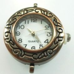 Beading Jewellery Watch Face - Bronze - Spoil Me Silly Jewellery