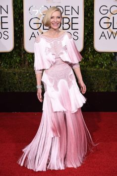 The Best and Worst (!) Dressed at the Golden Globes - FLARE editors weigh in on the Golden Globes red carpet, from the gorgeous to the kooky and the just plain boring - Cate Blanchett
