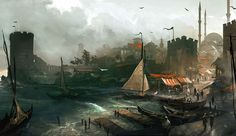 Constantinople Port - Characters & Art - Assassin's Creed: Revelations