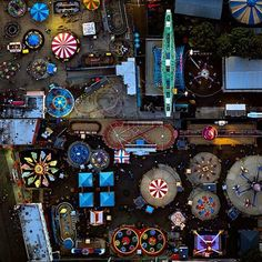Flying over Coney Island last weekend of the summer. A magical play land #coneyisland
