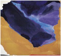"""""""~Helen Frankenthaler~ Bay Side (1967) """""""