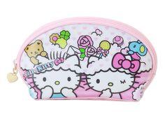 Hello Kitty Cosmetic Pouch Makeup Case Colorful Dream Sanrio