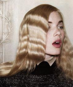 Elsa Sylvan shot by Blaise Reutersward for Vogue Germany