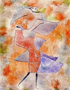 Diana In The Autumn Wind Paul Klee 1921