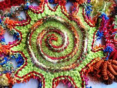 Ravelry: Spectacular Spirals pattern by Prudence Mapstone