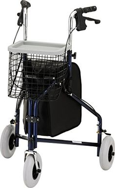 NOVA Medical Products Traveler 3wheel walker Blue *** Click the VISIT button to find out more