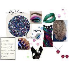 the selection inspired by ktekrause on Polyvore featuring Steve Madden, Deborah Lippmann and Sugarboo Designs