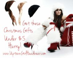 Check these cheap christmas gifts for as low as $2! :)    www.UptownGirlHeadwear.com