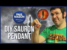 DIY Eye of Sauron pendant. Geek and Sundry   Your Daily Dose of Geekiness & etc.