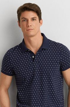 AEO Print Jersey Polo by  American Eagle Outfitters |  Shop the AEO Print Jersey Polo and check out more at AE.com.