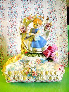 Garden Girl Pin Cushion | Flickr - Photo Sharing!