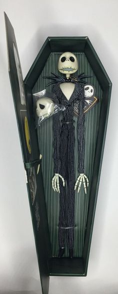 NBX nightmare before xmas Jack skellington 15 in coffin green jun planning