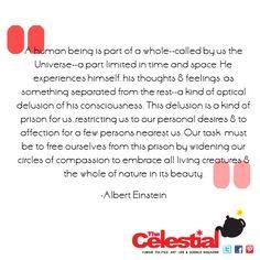 Albert Einstein #atheist quote by The Celestial Teapot magazine. Check out www.facebook.com/celestialtpot