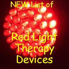 Red Light Therapy Devices. Want to find the best red light therapy  devices? The best for skin care purposes and pain relief, in order of rating