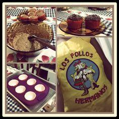 #Chemistry #BreakingBad #LosPollosHermanos #bolinho #cupcake