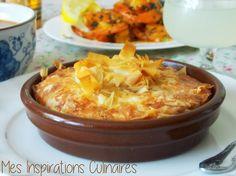 Tajine Malsouka tunisien | Le Blog cuisine de Samar Food L, Love Food, Food Porn, Plats Ramadan, Tunisian Food, Oriental Food, Ramadan Recipes, Samar, Arabic Food