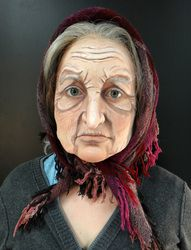 Old age makeup
