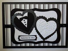 Love this wedding card - very nice.