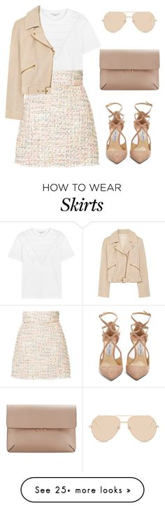"""""""Untitled #709"""" by rebecky89 on Polyvore featuring Linda Farrow, STELLA McCARTNEY, Bambah, Tory Burch, Jimmy Choo and MANGO"""