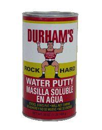 DURHAM's  Water Putty for glazing windows