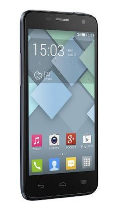 """Alcatel One Touch IDOL MINI 6012D – Smartphone (109.2 mm (4.3 """"), 854 x 480 Pixeles, IPS, 1.3 GHz, 512 MB, 8 GB), color Azul oscuro (Slate), importado"""