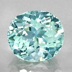 """Aquamarine, the march birthstone, is blue beryl (the same mineral as emerald, but emerald is green). Aquamarine is valued for its lovely and unique """"aqua"""" blue color."""