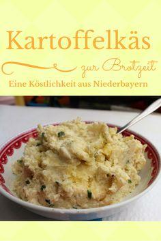 Kartoffelkäs - oder Erdäpfelkas, wie er in Niederbayern genannt wird - gehört im Süden Deutschlands einfach zu einer guten Brotzeit dazu. Er schmeckt köstlich und taugt auch gut als Resteessen. An Guadn!