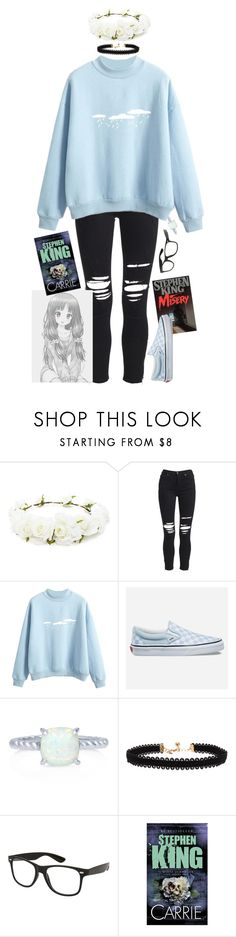 """""""Pastel Book Nerd"""" by fallenkitten ❤ liked on Polyvore featuring Forever 21, AMIRI, Vans, BERRICLE and Vanessa Mooney"""