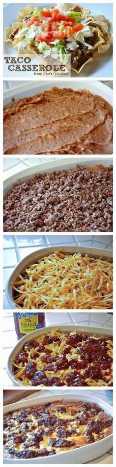 Taco Casserole - SOOO easy!