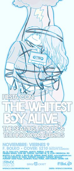 9 noviembre 2007 the whitest boy alive FBLOKO