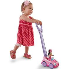 Fisher-Price Baby Go Baby Minnie 2-in-1 Push Car