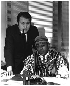 Bob Thiele signs Archie Shepp to an Impulse contract in 1964. © Chuck Stewart