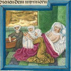 """Furtmeyr-Bibel (Deutsche Bibel """"Münchener Altes Testament""""). Band 1:  Genesis - Ruth. Cgm 8010a 1465-70, Regensburg Folio 27"""