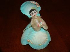 VINTAGE SEA SHELL ART DOLL