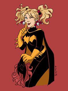 Sssttt Harley as Batgirl