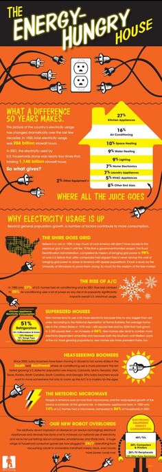The energy hungry house [infographic]