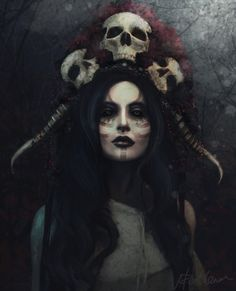 ArtStation - Death, Valentina Bachkarova- Lord