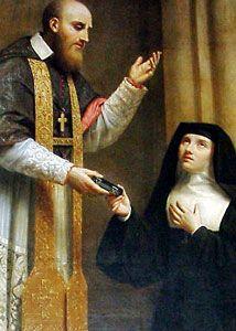 st jane de chantal | Francis de Sales & Jane de Chantal