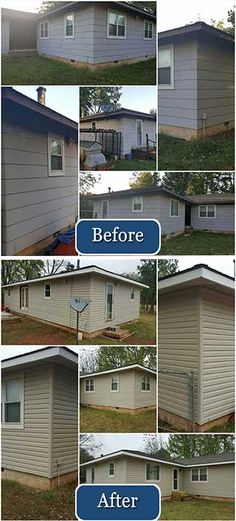 A beautiful replacement siding project completed by CBI Tulsa!
